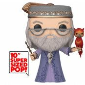 Super Sized Funko POP! Harry Potter - Albus Dumbledore with Fawkes