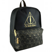 Harry Potter - Deathly Hallows Backpack Gold