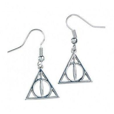 Harry Potter - Deathly Hallows Earrings (silver plated)