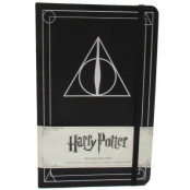 Harry Potter - Deathly Hallows Hardcover Ruled Journal