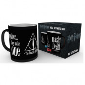 Harry Potter - Deathly Hallows Heat Change Mug