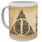 Harry Potter - Deathly Hallows Words Mug