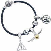 Harry Potter - Leather Bracelet Charm Set