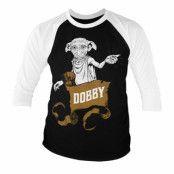 Harry Potter - Dobby Baseball 3/4 Sleeve Tee, Long Sleeve T-Shirt