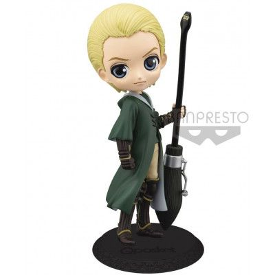 Harry Potter - Q Posket Draco Malfoy Quidditch Style Mini Figure Ver. A