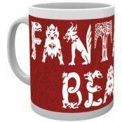 Fantastic Beasts - Red Mug