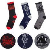 Harry Potter - Dark Arts Socks 3-Pack