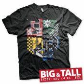 Harry Potter Dorm Crest Big & Tall T-Shirt, Big & Tall T-Shirt