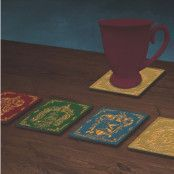 Harry Potter - Houses Crests Coaster 4-Pack