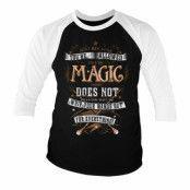 Harry Potter Magic Baseball 3/4 Sleeve Tee, Baseball 3/4 Sleeve Tee