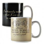 Harry Potter - Marauder's Map Heat Change Mug 2