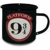 Harry Potter - Platform 9 3/4 Enamel Mug