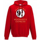 Harry Potter - Platform 9 3/4 Hooded Sweater Red