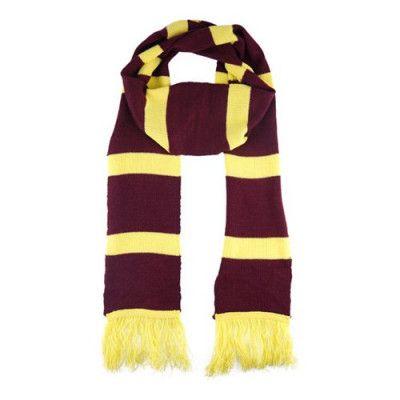 Harry Potter Scarf Röd/Gul