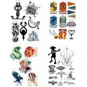 Harry Potter - Temporary Tattoos Set