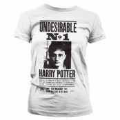 Harry Potter Wanted Poster Girly Tee, Girly Tee