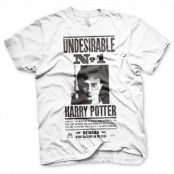 Harry Potter Wanted Poster T-Shirt, Basic Tee