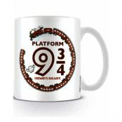 Licensierad Harry Potter Plattform 9 3/4 Kopp