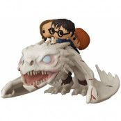 Funko POP! Rides: Harry Potter - Dragon with Harry, Ron & Hermione