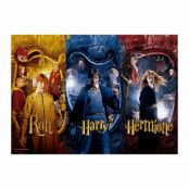 Harry Potter - Harry, Ron & Hermione Jiggsaw Puzzle