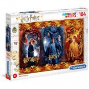 Harry Potter - Super Color Puzzle (Harry, Ron & Hermione)
