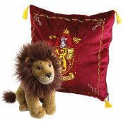 Harry Potter - Cushion with Mascot Plush - Gryffindor
