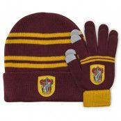 Harry Potter - Gryffindor Beanie & Gloves Set for Kids