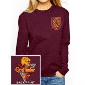 Harry Potter - Gryffindor Ladies Crewneck Sweatshirt