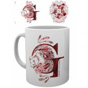 Harry Potter - Gryffindor Monogram Mug
