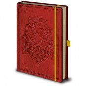 Harry Potter - Gryffindor Premium Notebook A5