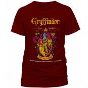 Harry Potter - Gryffindor Quidditch T-Shirt Red