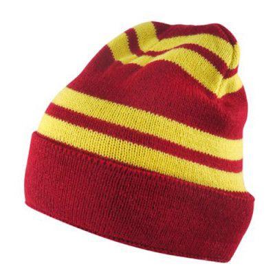 Harry Potter Mössa Barn Röd/Gul - One size