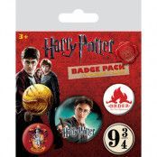 Harry Potter - Pins 5-Pack Gryffindor