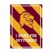 Harry Potter - Roar for Gryffindor Tin Sign - 21 x 15 cm