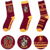 Harry Potter - Socks 3-Pack Gryffindor