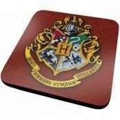 Harry Potter - Coaster Hogwarts Crest 6-Pack