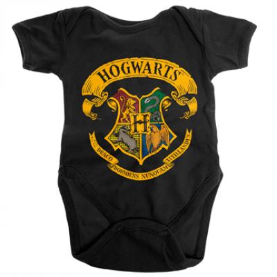 Harry Potter - Hogwarts Crest Baby Body, Baby Body