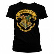 Harry Potter Hogwarts Crest Dam T-shirt