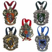Harry Potter - Tree Ornaments Hogwarts 5-Pack
