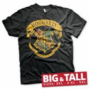 Hogwarts Crest Big & Tall T-Shirt, Big & Tall T-Shirt