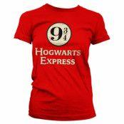 Hogwarts Express Platform 9-3/4 Girly Tee, Girly Tee