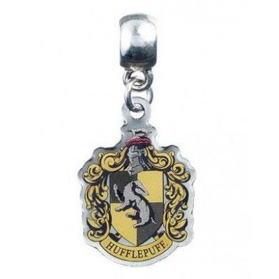 Harry Potter - Hufflepuff Crest Charm (silver plated)