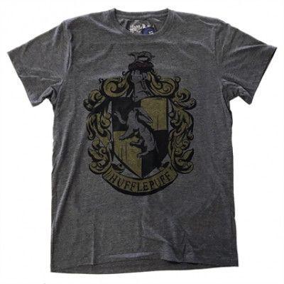 Harry Potter Hufflepuff Dyed T-Shirt, Basic Tee