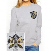 Harry Potter - Hufflepuff Ladies Crewneck Sweatshirt