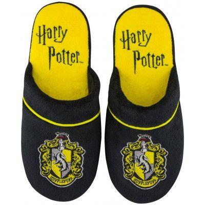 Harry Potter - Hufflepuff Slippers Black