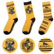 Harry Potter - Socks 3-Pack Hufflepuff