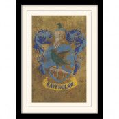Harry Potter Inramad Poster Ravenclaw Crest