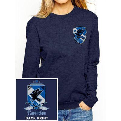 Harry Potter - Ravenclaw Ladies Crewneck Sweatshirt
