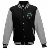 Harry Potter - Baseball Varsity Jacket Slytherin Quidditch