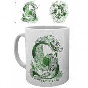 Harry Potter - Slytherin Monogram Mug